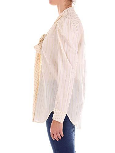 S8tts826102140 Viscosa Blusa set Twin Bianco Donna tzfBgq