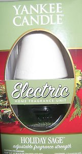 Holiday Sage Retired Yankee Candle® Electric Home Fragrancer (Refill Yankee Home Electric Fragrancer)