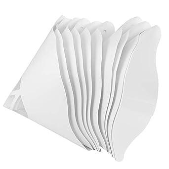 UKCOCO - 10 filtros de papel gruesos de resina desechables para ...