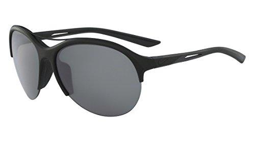 Nike Sonnenbrille (NIKE FLEX MOMENTUM R EV1018) MT BLACK /DARK GREY MIRR LENS