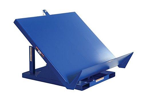 Vestil EM1-200-4848-2 Efficiency Master Tilt Table, Welded Steel, 48'' Length, 48'' Width, 24'' Horizontal Height, 2000 lbs Capacity by Vestil