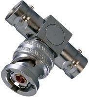 (EMERSON CONNECTIVITY/TROMPETER BN73 TEE Adapter, TRB TWINAXIAL-TRIAXIAL, Jack to)