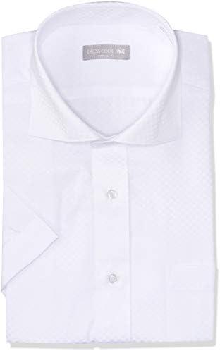 ワイシャツ 選べる10種類 透けにくい 形態安定Yシャツ 半袖 メンズ クールビズ カッタウェイ SHDH22