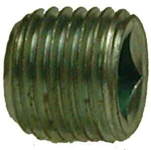 Midland Metal 66631 Steel 1/4 Galv C/S Sq Steel Plug (Pack Of 10)