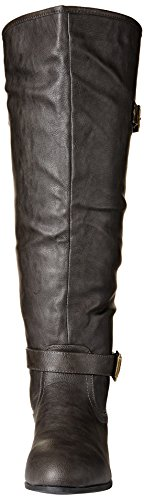 Global Win GLOBALWIN Womens Large Calf Over-The Knee Fashion Boots 09grey ikbUq