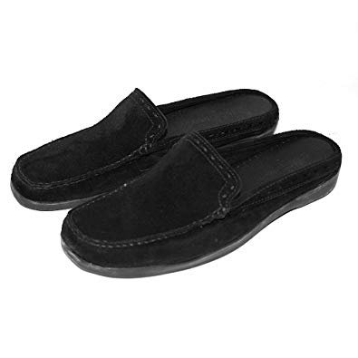 Women's Minnetonka Mule (#529) | Color Casuals Black | Women's Casuals Color Mule Hard Soles Parent B0791VJR11 c372c8