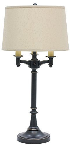 "House of Troy L850-OB Lancaster Six Way Table Lamp, 31.75"", Oil Rubbed Bronze"