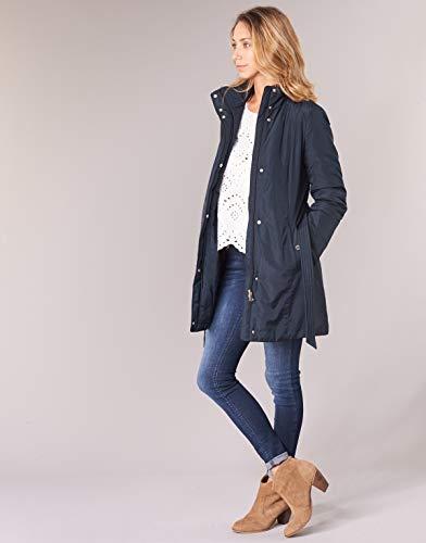 Nights Jacket Blue Sra Geox Long Coat qwdzxaxIS