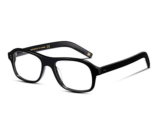 EyeGlow prescription eyewear acetate eyeglasses frame for Men and women fashion new style Kingsman glass - New Glasses Style