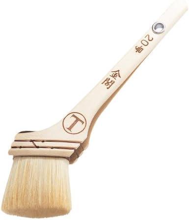 大塚刷毛 合成樹脂塗料用刷毛 「金閣」 筋違 白 20号