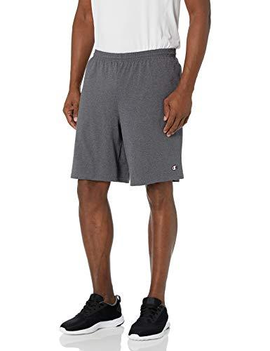 Champion Men's Jersey Short with Pockets, Granite