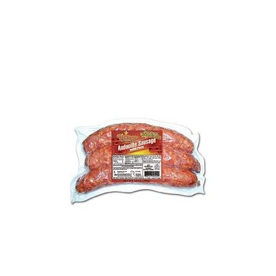 Big Easy Foods Smoked Andouille (5 packs): Grocery & Gourmet Food