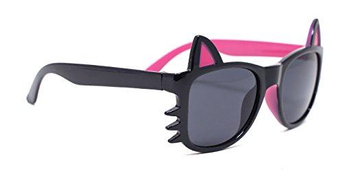 TIJN Kids Girls Cat Polarized - Cute Sunglasses Girl