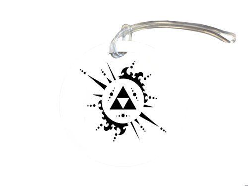 Legend Of Zelda Triforce Art 4-inch Luggage/Bag Tag by MWCustoms