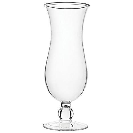 Carlisle 565007 Alibi Shatter-Resistant Plastic Hurricane Glass Renewed 16 oz Set of 24