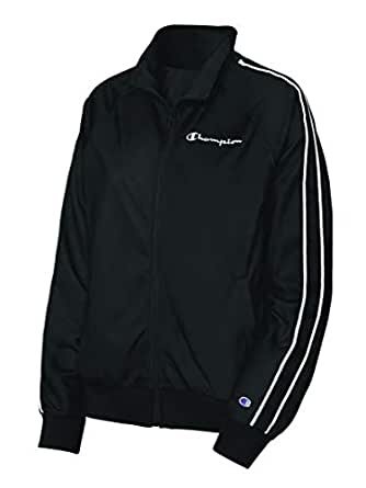 Champion Womens Track Jacket Long Sleeve Jacket - Black - X-Small