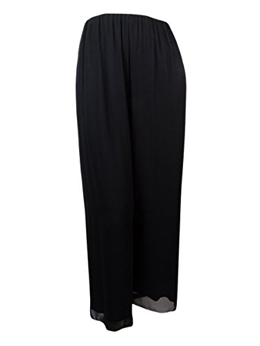 Alex Evenings Women's Plus Size Chiffon Dress Pant