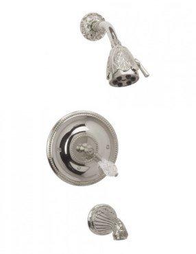 (Phylrich PB2180_11B - Louis XIV Pressure Balance Tub and Shower Set)