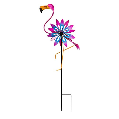 New Creative Flamingo Kinetic Wind Spinner