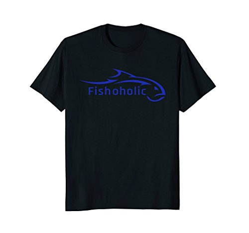 (Fishoholic Fishing Shirt symbolizes All Fish & All Attitude.)