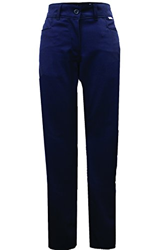 National Safety Apparel PNTQUW12X32 Women's Ultrasoft AC FR Work Pants, 12 Calorie, 12'' x 32'', Navy Blue by National Safety Apparel Inc