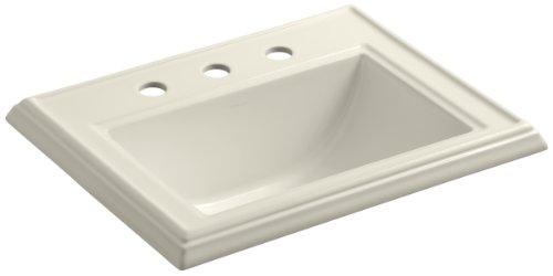 (KOHLER K-2241-8-47 Memoirs Self-Rimming Bathroom Sink,)