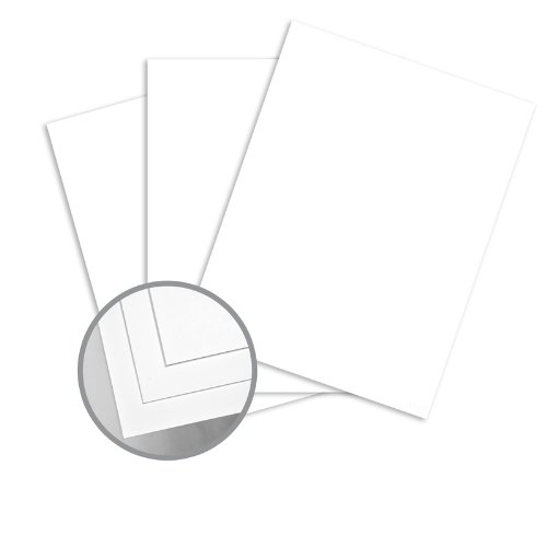 Futura White Card Stock - 19 x 13 in 120 lb Cover Dull C/2S 200 per Package