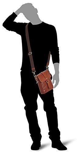 Picard Buddy bolso bandolera piel 18 cm cognac