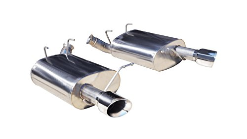 CORSA 14319 Sport Stainless Steel Axle-Back Exhaust System Kit with 3.5