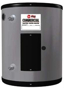 - Rheem EGSP6 Point-Of-Use Electric Commercial Water Heater, 6 Gallon, 120v, 2Kw