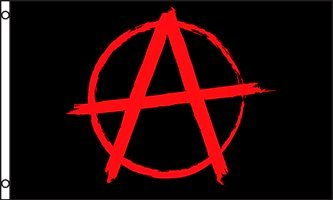 Anarchy 3X5 Ft Polyester Flag