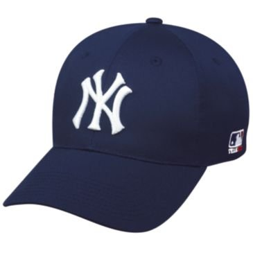 MLB YOUTH New York YANKEES Home Navy Hat Cap Adjustable Velcro TWILL by OC Sports