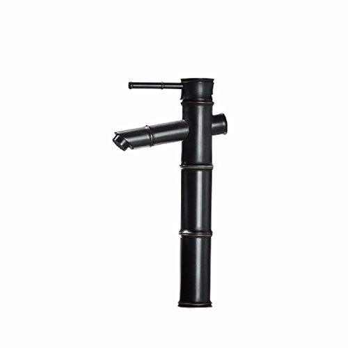 Rubbed Black Lacquer - WAWZJ-Basin Sink Mixer Tap Black Lacquer Full Copper Faucet Bathroom Cold Hot Basin Faucet,B