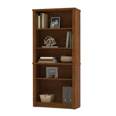 Bestar Embassy OfficePro 60000 Modular Bookcase, Tuscany Brown