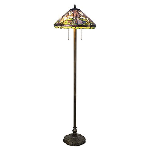 Tiffany Style Calla Lilly Floor Lamp
