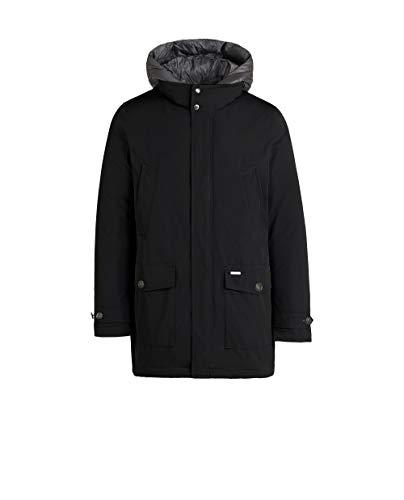 Uomo Coat Woolrich City Giaccone Da Nero 7wwRvqBx