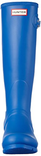 Hunter Femme Tall Bright Bleu Bottes Cobalt Original qqgzH