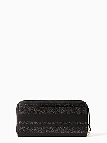 Black Glitter Kate Newbury Wallet Lane Neda Spade Leather BrYYq0xgw