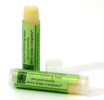 River Soap Company - Lip Balm Spearmint - 0.15 oz.