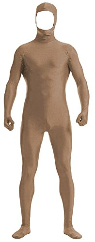 VSVO Face Open Zentai Lycra Spandex Bodysuit (XX-Large, Brown) for $<!--$29.99-->