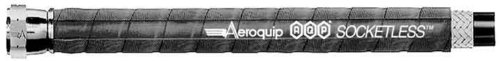 Aeroquip FCN0620 AQP Black -06AN Socketless Hose - 20 Feet