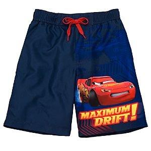 Amazon.com: Disney Lightning McQueen Swimsuit for Boys