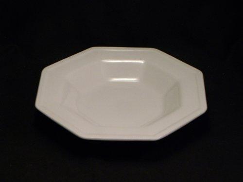 Heritage Rimmed Soup Bowl - Johnson Bros. Heritage White Rim Soup Bowl(s) 9.5