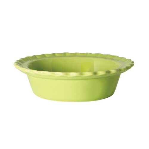 - Chantal Classic Individual 5 Inch Pie Dish, Glossy Lime Green