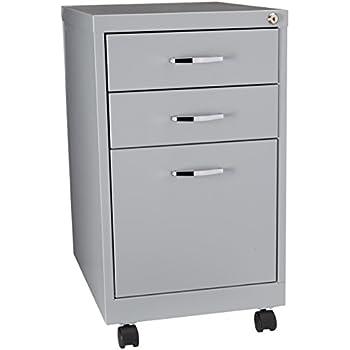 Amazon Com Hirsh Soho 3 Drawer Filing Cabinet In