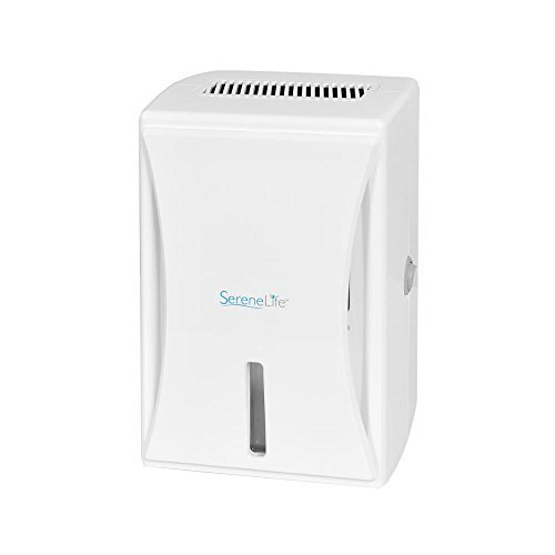 SereneLife PDUMID35 - Compact Electronic Dehumidifier 20 Oz - Effective for Rooms up to 1,600 Cubic Feet by SereneLife