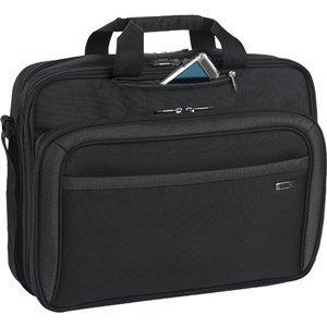 (Solo 17.3 Laptop CheckFast Briefcase, Black, CLA314 by SOLO)
