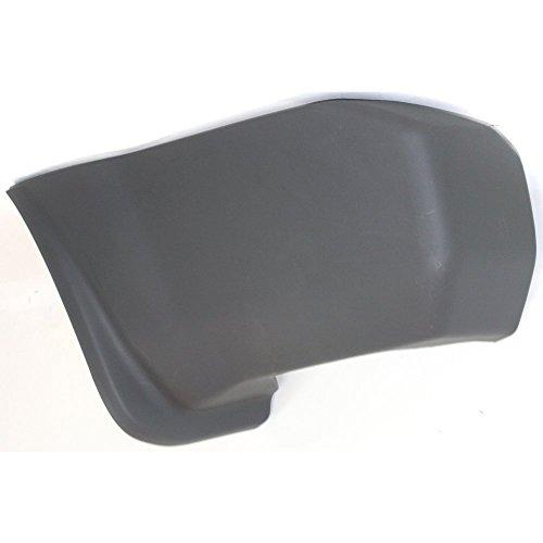 Side Rear Bumper End - Evan-Fischer EVA17172018137 Bumper End for Nissan Xterra 00-04 Rear Textured Left Side Plastic Textured