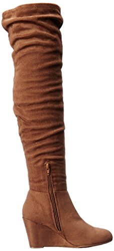 Boot Wedge Suedette Women's Camel Laundry Chinese Ultra UqWC1RYI