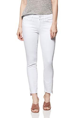 PAIGE Women's Skyline Skinny Jeans, Crisp White, 28
